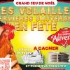 Gagnants jeu de Noël Volailles Fermières d'Auvergne